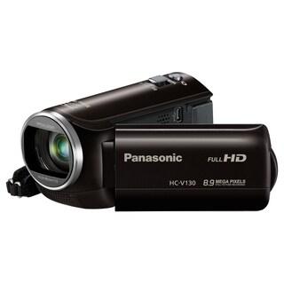 "Panasonic HC-V130 Digital Camcorder - 2.7"" LCD - BSI MOS - Full HD -"