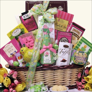 Divine Easter Sweets Chocolate and Sweets Gift Basket