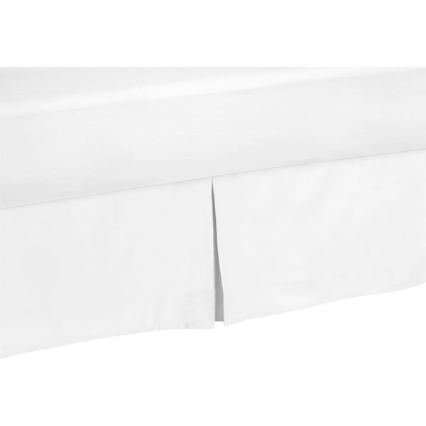 Sweet Jojo Designs White Bedskirt