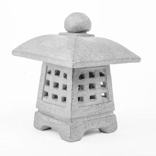 Volcanic Ash Ikekomi-doro Garden Lantern, Handmade in Indonesia
