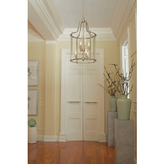 Gillmore 6-light Clear Glass Shade Hall/ Foyer Lantern
