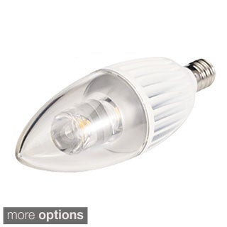 4.5-watt 120-volt 3000K B10 Candelabra Base LED Light Bulb