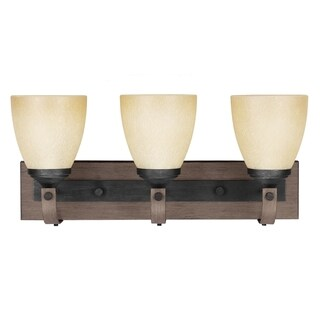 Corbeille Stardust and Creme 3-light Wall/ Bath Vanity Fixture