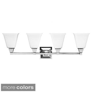 Denhelm Modern 4-light Wall/ Bath Vanity Fixture