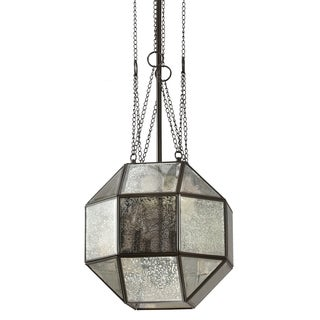 Lazlo Medium 4-light Heirloom Bronze/ Mercury Glass Pendant
