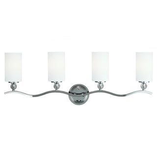 Englehorn 4-light Chome Wall/ Bath Vanity
