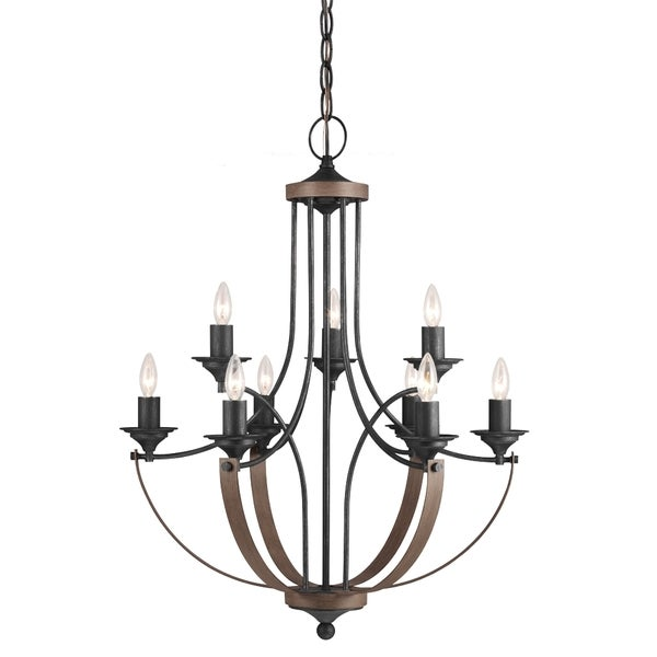 Corbeille Nine Light Stardust Chandelier Free Shipping Today Overstock Com