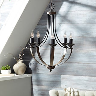 Corbeille 5-light Stardust Candelabra Chandelier