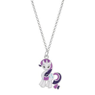 Fine Silver Plated Rarity My Little Pony Pendant Necklace