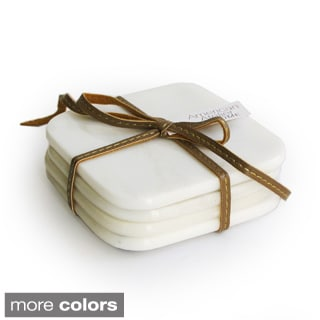 American Atelier Marble Coasters (Set of 4)