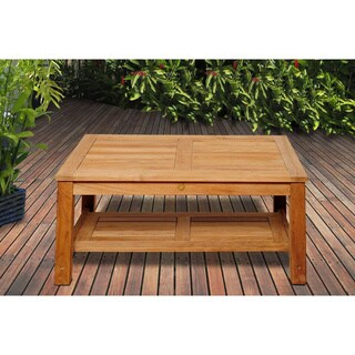 San Francisco Teak Wood Coffee Table