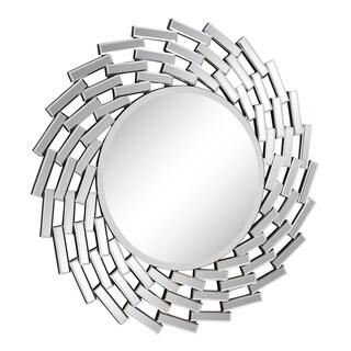 Somette Round Modern Wall Mirror