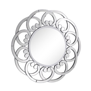 Christopher Knight Home Round Arch Modern Wall Mirror