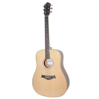 ADM Premium Electric Acoustic Dreadnought Solid Spruce Top Guitar