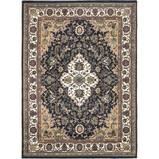 "Medallion Cream Area Rug (5'6"" x 7'6"")"