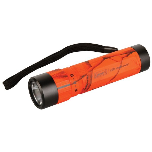 Coleman Blaze Camo Aluminum Multi-color LED Flashlight