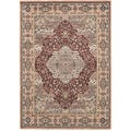 "Medallion Copper Area Rug (5'6"" x 7'8"")"