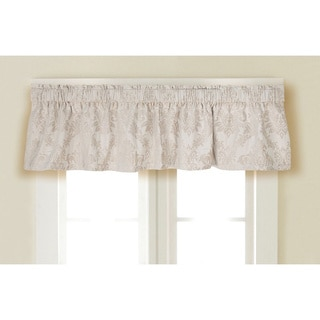Rose Tree Crystal Jacquard Window Valance