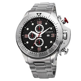 Akribos XXIV Men's Chronograph Stainless Steel Bracelet Watch