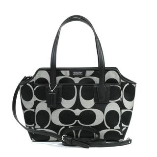 Coach Mini 'Taylor' Signature Bette Logo Jacquard Tote