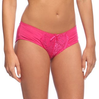 24/7 Frenzy Women's Poly Blend Bikini Panties (12 Pack)