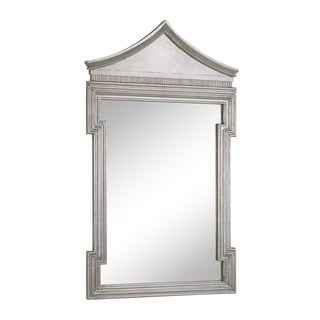 Christopher Knight Home Antique Thick Silver Framed Wall Mirror