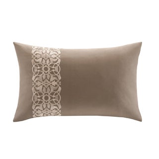 Harbor House Lynnwood Cotton Embordered Oblong Throw Pillow