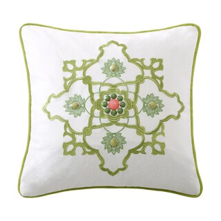 Echo Design Gramercy Paisley Cotton Square Throw Pillow