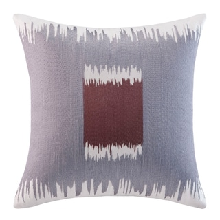 Echo Design Tribal Blocks Cotton Square Throw Pillow