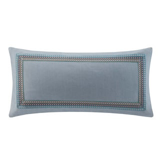 Echo Rio Cotton Oblong Embroidered Throw Pillow