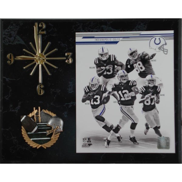 NFL 2013 Indianapolis Colts Team Photo Clock