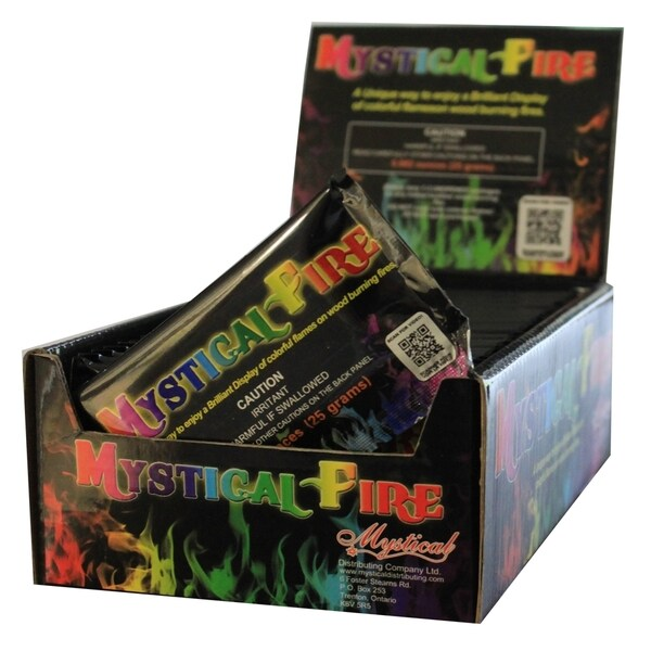 Mystical Fire Flame Colorant 25-pouch Box