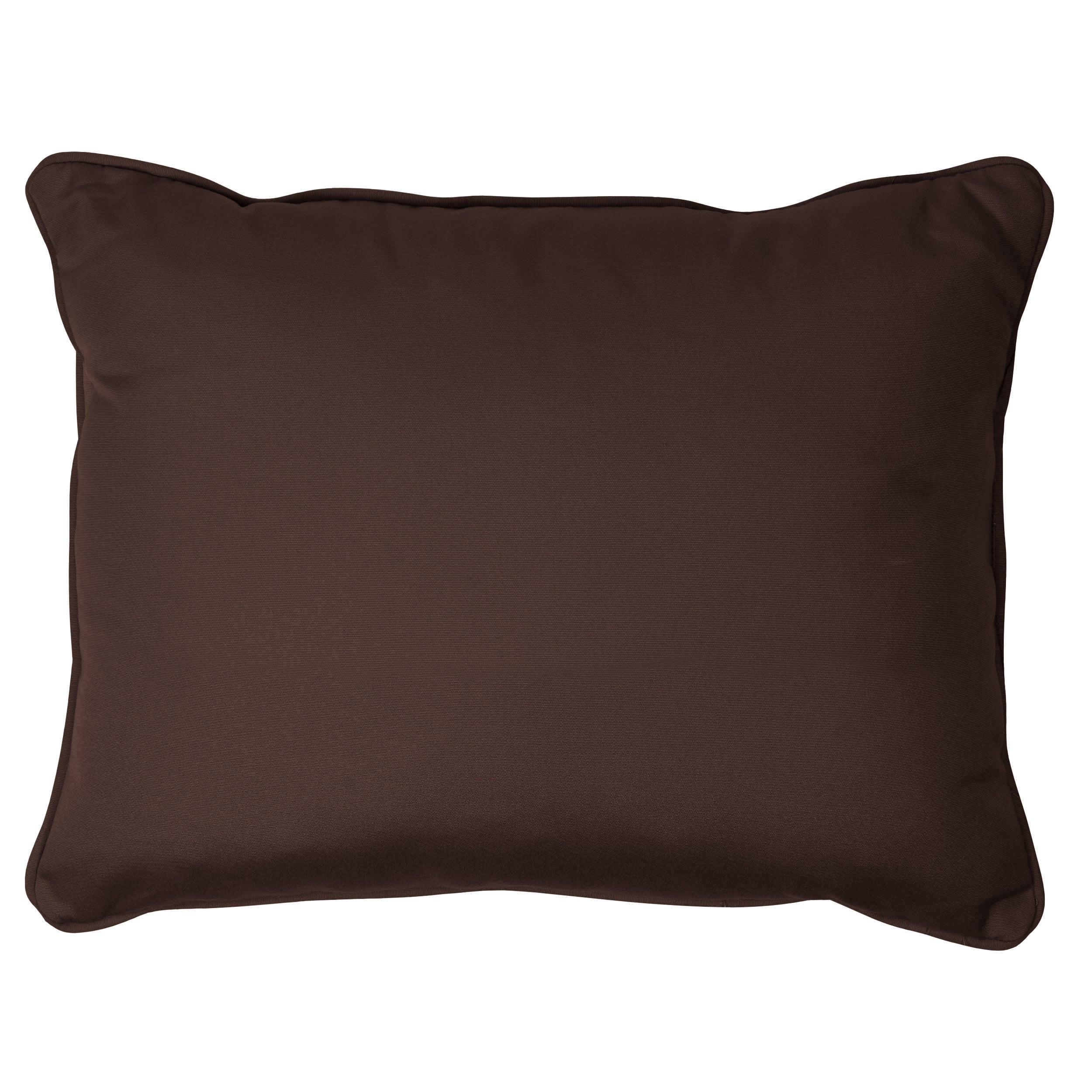 Overstock.com Bay Brown Corded 13 x 20 inch Indoor/ Outdoor Pillows with Sunbrella Fabric (Set of 2) at Sears.com