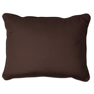 Bay Brown Corded 13 x 20 inch Indoor/ Outdoor Pillows with Sunbrella Fabric (Set of 2)