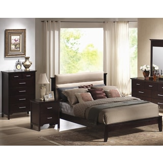 Andrea Tan 3-piece Platform Bed Set