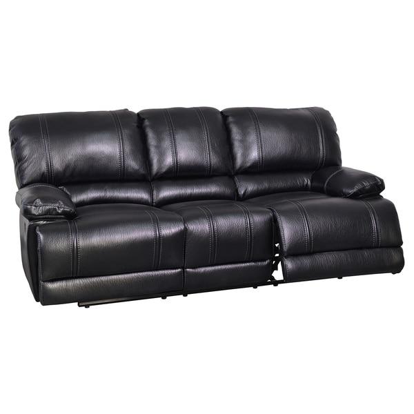 Kelton Black Reclining Sofa