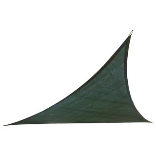 Cool Area 9.8-foot Dark Green Triangle Sail Sun Shade and Hardware Kit