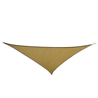 Cool Area 9.8-foot Golden Triangle Sail Sun Shade and Hardware Kit