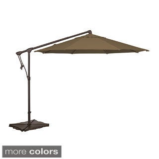 Trinidad 10-foot Octagonal Cantilever Umbrella in Sunbrella Acrylic Fabric