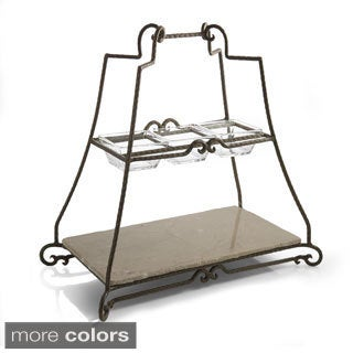Mendocino 2-tier Server Tray