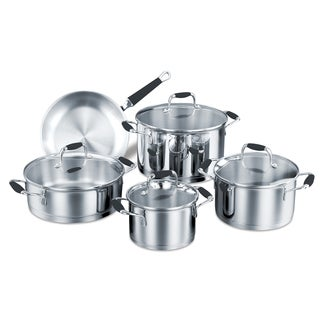 Korkmaz Flora 9-piece Encapsulated Cookware Set