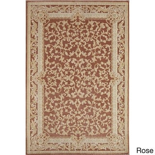 Verona Vines Traditional Floral Area Rug (5'3 x 7'10)