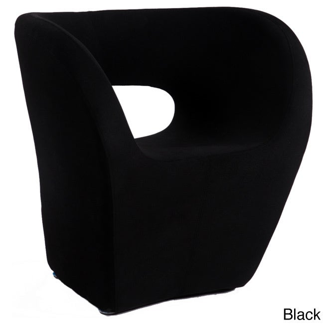 Overstock.com Faux Cashmere Stationary Modern Bucket-seat Arm Chair at Sears.com