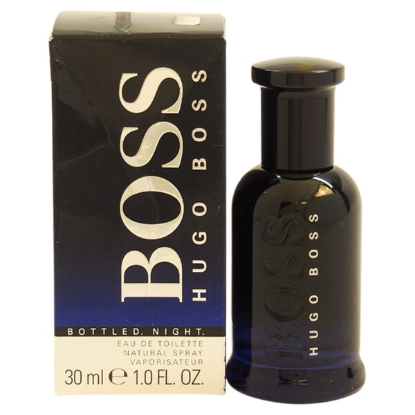 Hugo Boss Bottled Night Men's 1-ounce Eau de Toilette Spray