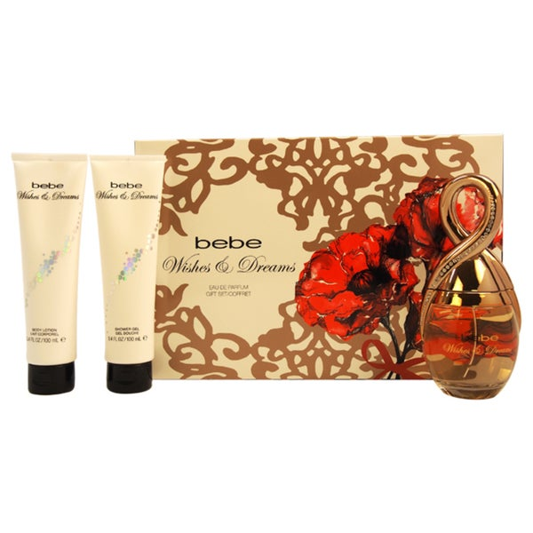 Bebe Wishes & Dreams Women's 3-piece Gift Set