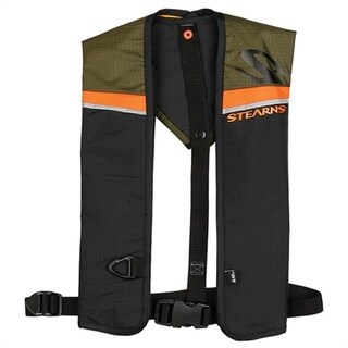 Stearns Green 0.85-ounce Auto/ Manual Inflatable Life Vest