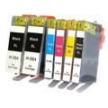 Remanufactured For HP 564XL CN321WN CB323WN CB324WN CB325WN Ink Cartridge (Pack Of 6 :2XXLK/1C/1M/1Y/1PK)