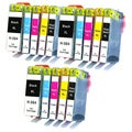 Remanufactured For HP 564XL CN321WN CB323WN CB324WN CB325WN Ink Cartridge (Pack Of 15 :3XXLK/3C/3M/3Y/3PK)