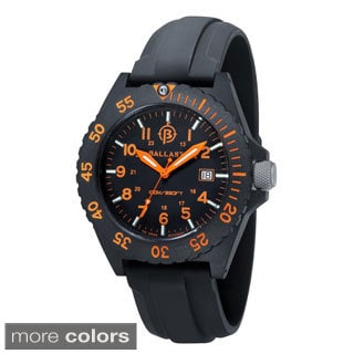 Ballast 'Bright Star' Men's Chronograph Watch with Additional Nylon Band