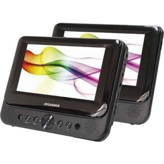 "Sylvania SDVD8739 Car DVD Player - 7"" LCD - 16:9"